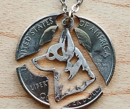 Custom Cut Coin Necklaces