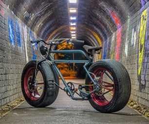 Car Wheel Bicycle - The Learn To Weld Project