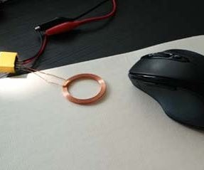 Make Wireless Charging Mouse