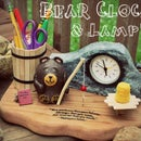 Bee Creative! ~ Bedside Bear Clock and Lamp