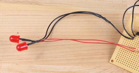 Attach Sensor and LEDs