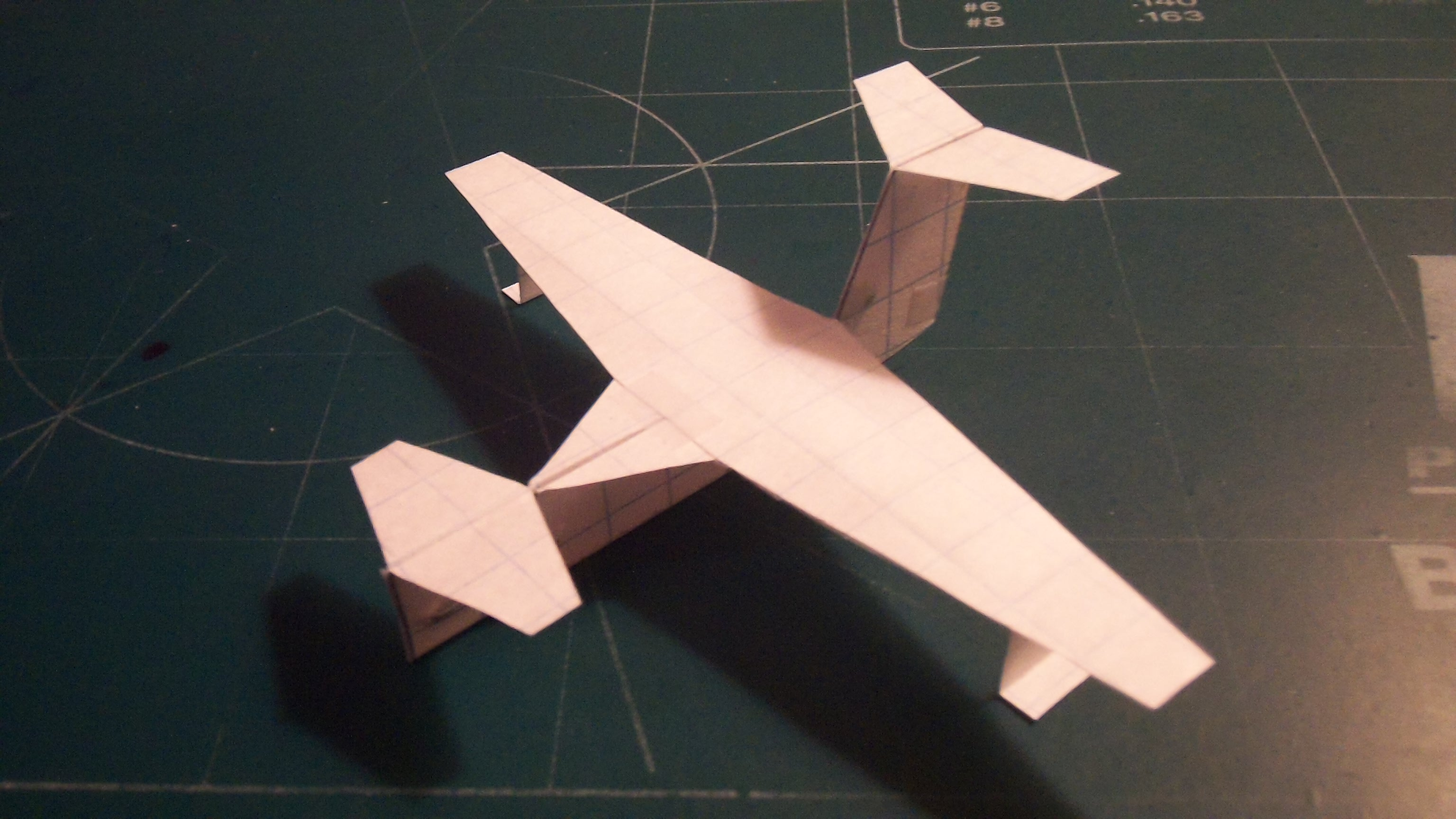 Picture of How to Make the UltraStratoCruiser Paper Airplane
