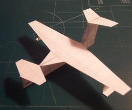 How To Make The UltraStratoCruiser Paper Airplane