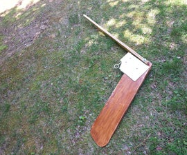 Sunfish Boat Rudder Build