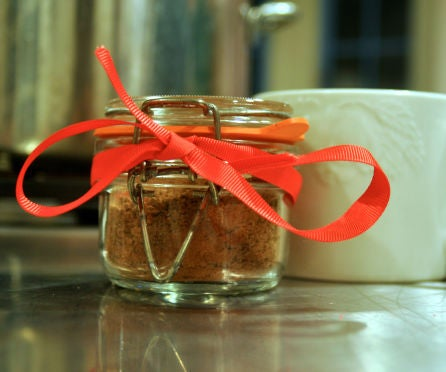 DIY Spiced Hot Cocoa Mix