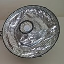 DIY - Recycling a Floor Fan Into a Photography Light Modifier/all-in-one Lamp