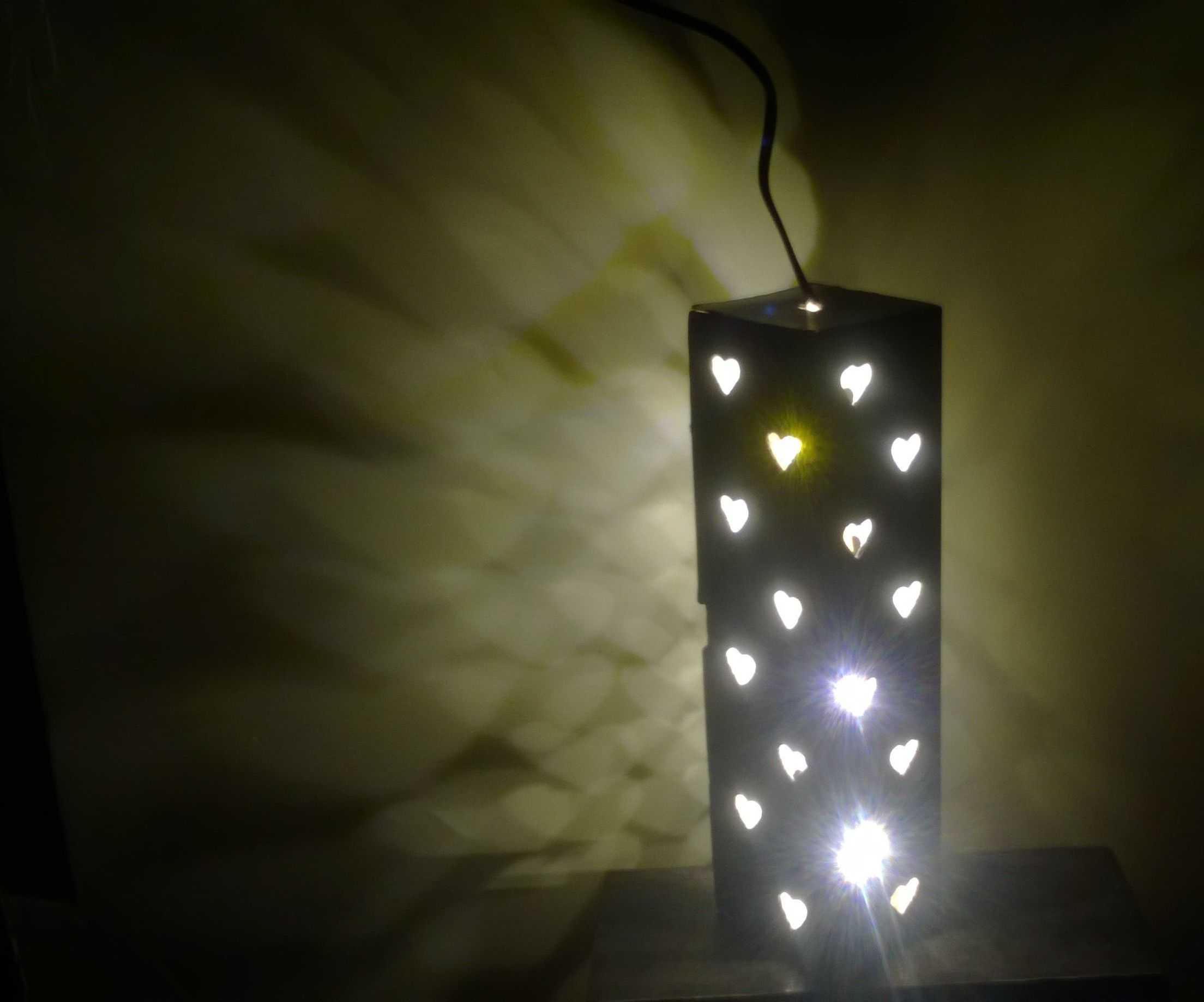 Diy Beautiful Night Lamp 7 Steps With Pictures