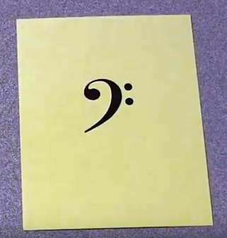 Picture of Bass Clef Notes