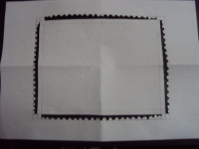 Create the Outer Edge of Postage Stamp