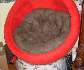 Cardboard Ball Chair