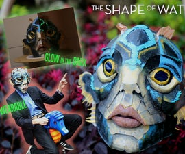 Paper Gillman Mask the Shape of Water