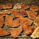 Cinnamon Sugar Pita Chips