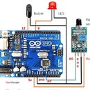 Fire  detection  using Arduino and flame sensor