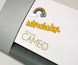 DIY Stickers using a Silhouette Cameo/Portrait