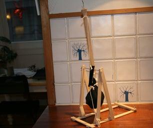How to Make a Mini Trebuchet Catapult