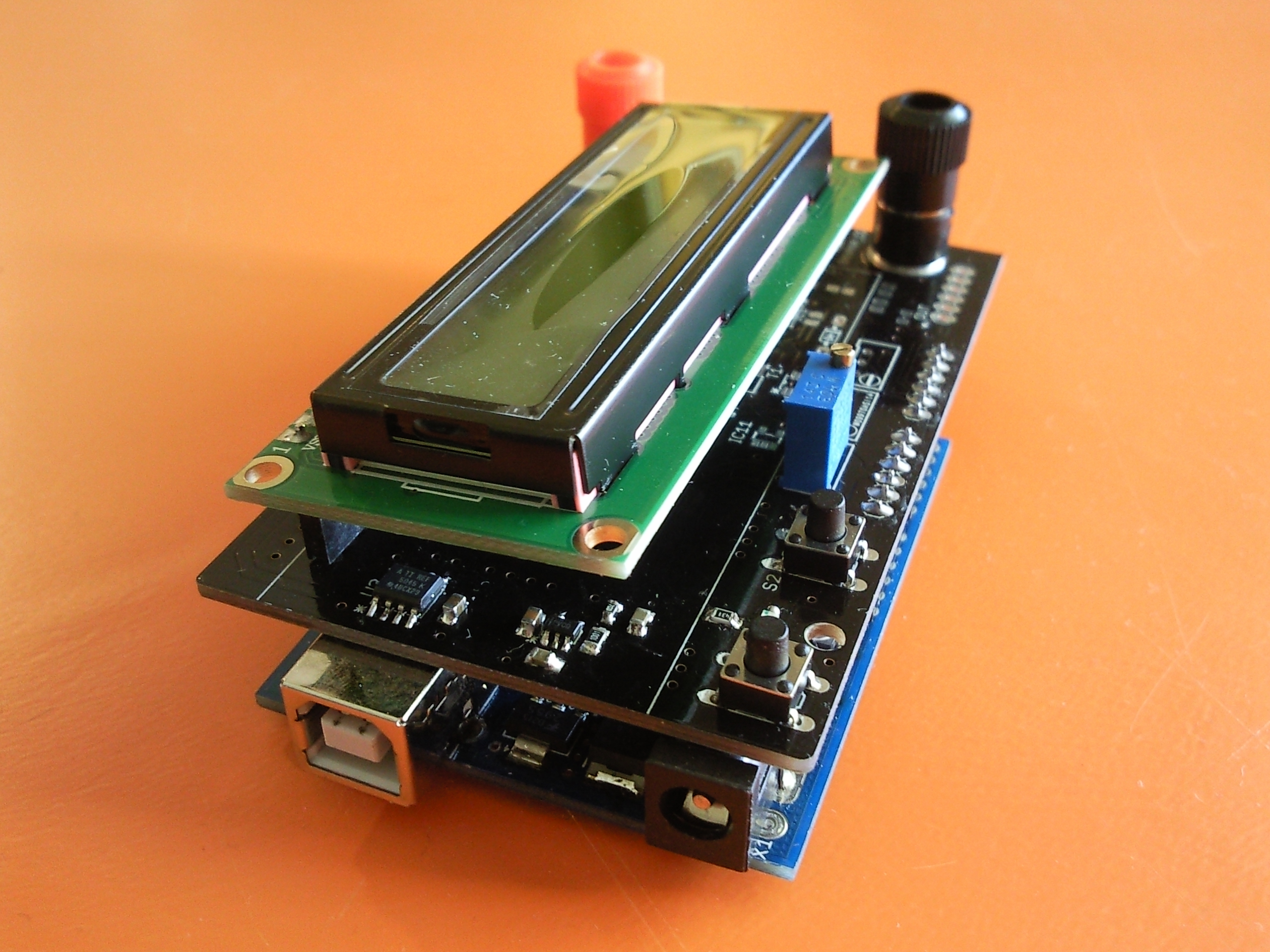 Picture of The Shield Soldered