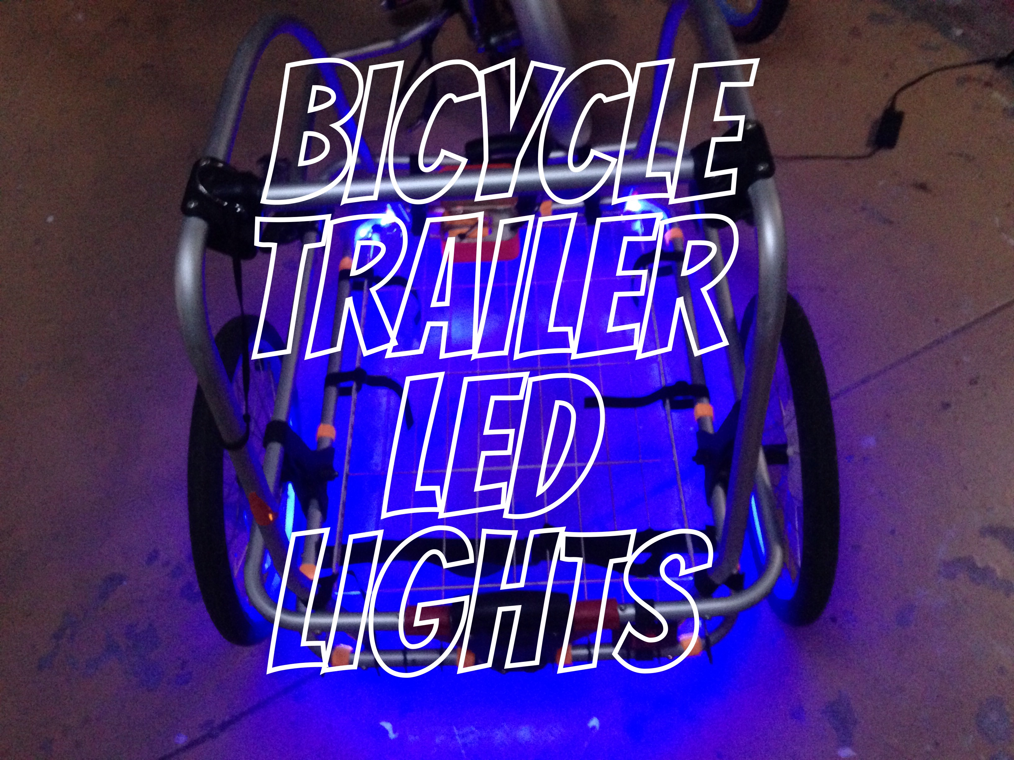 Picture of Bicycle Trailer LED Lights