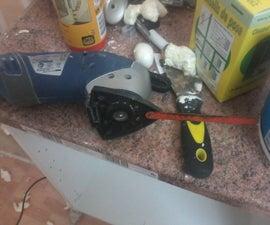 Redneck, Fast, Dirt Cheap, Oscillating Multi-tool