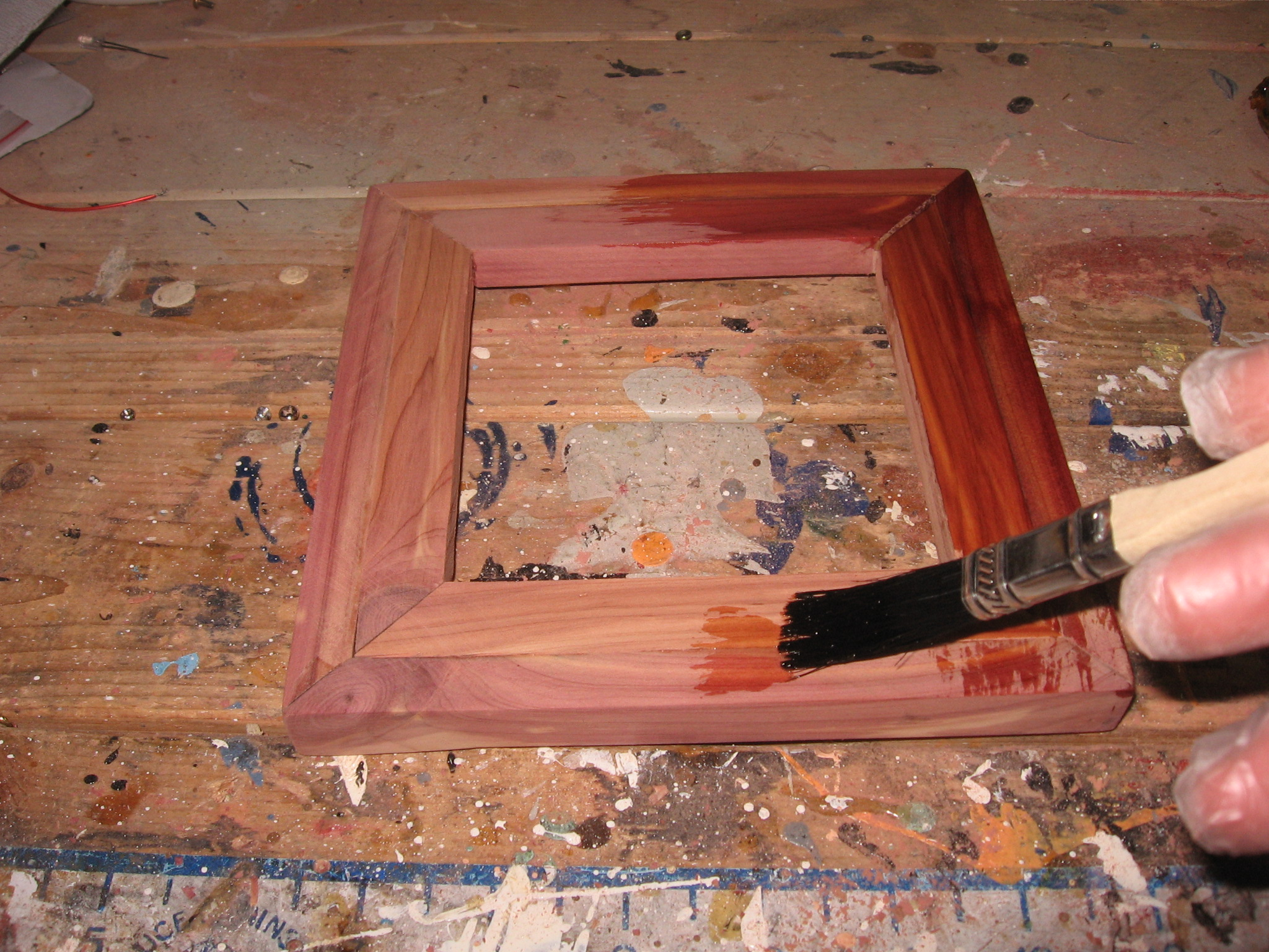 Picture of Varnishing the Case
