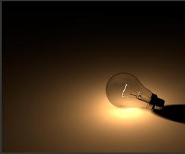 Modeling and Rendering a Light Bulb in Blender