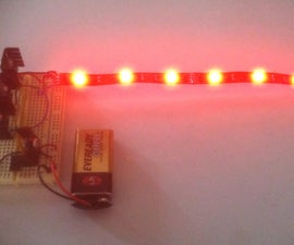 RGB LED Strip Circuit with Arduino