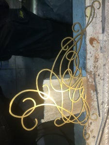 Making the Brass Decorations