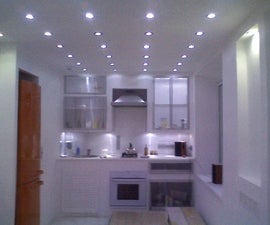 LED only apartment lighting