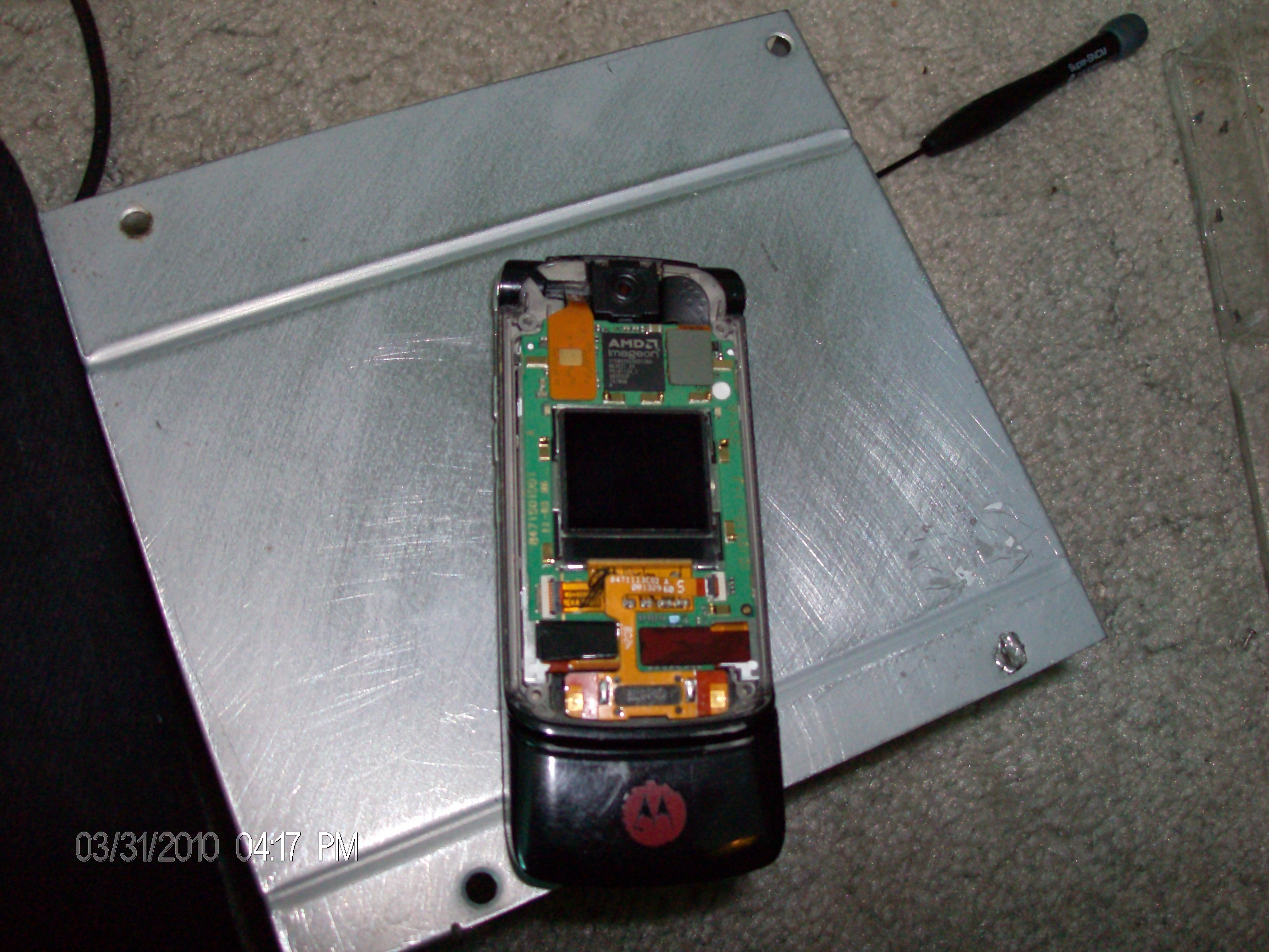 Picture of Screen Removal