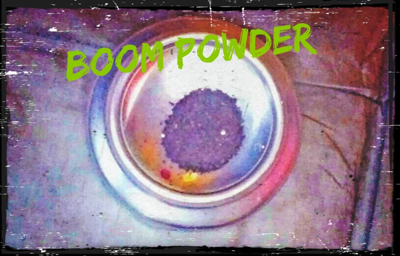 Picture of Easily Make Black Powder Using House Hold Items