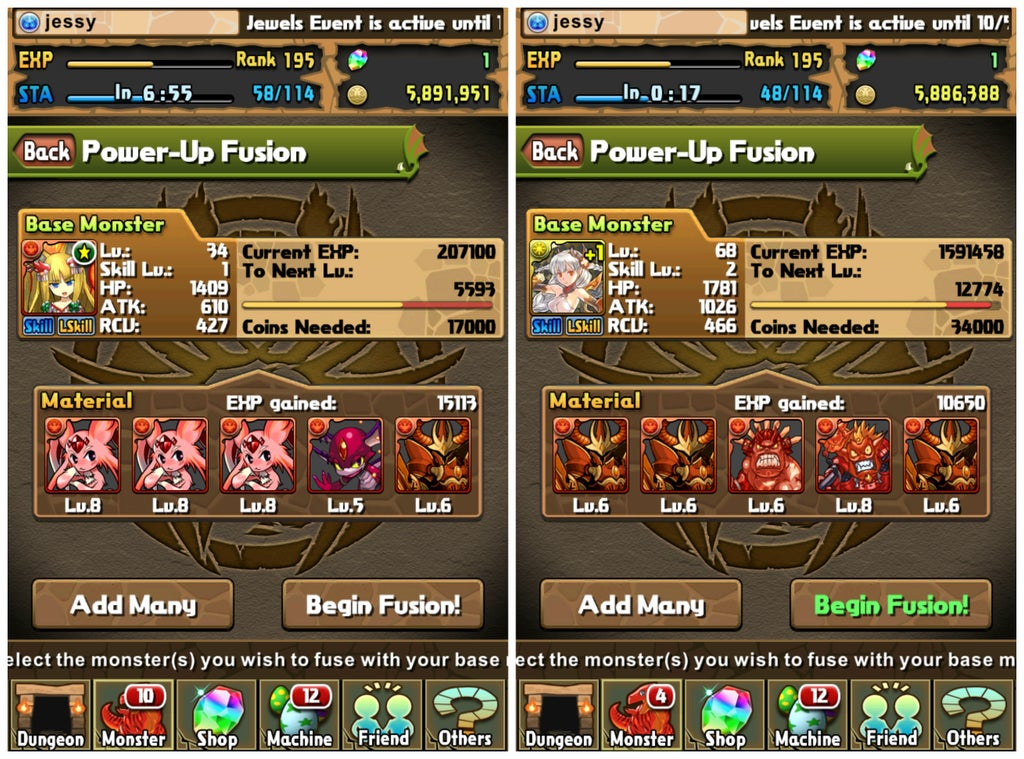 Puzzle And Dragons Beginner S Guide Updated For Version 8 6 22 Steps With Pictures Instructables
