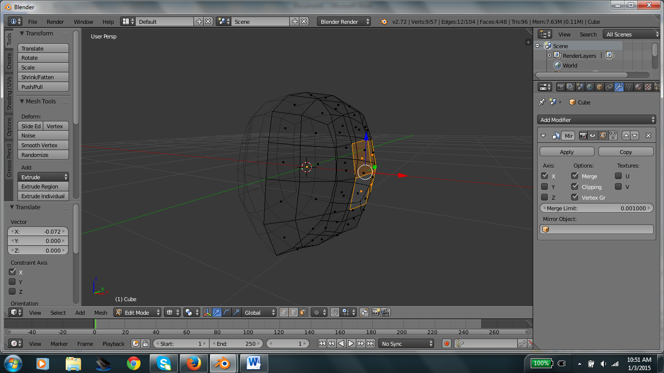 Picture of Shape the Head Part 1