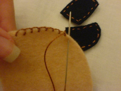 Sewing the Puppy