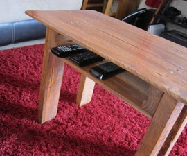 Pallet coffee table | How to make a coffee table out of old wood pallets