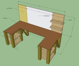 Wrap Around Workbench