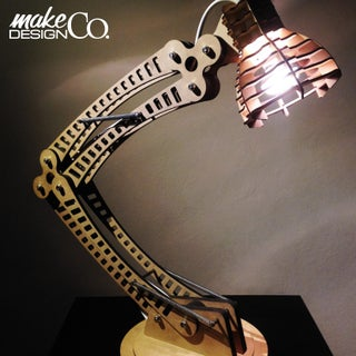 Woodpunk LED Desk Lamp