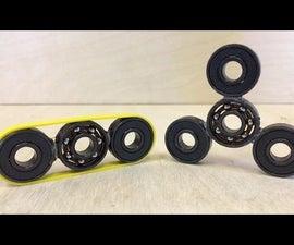 DIY FIDGET SPINNER   How to Make Hand Spinner Fidget Toys