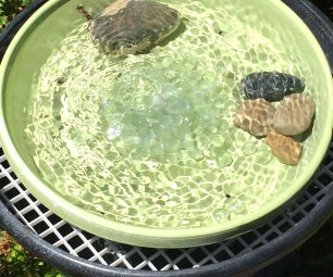 Recirculating Bird Bath/fountain