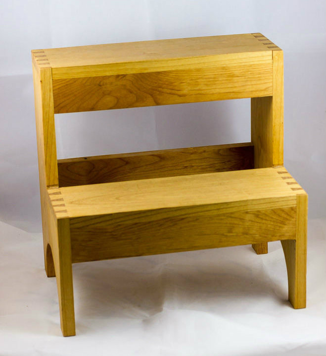 Picture of Dovetailed Step Stool