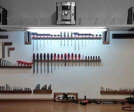 Custom Wall Tool Holders