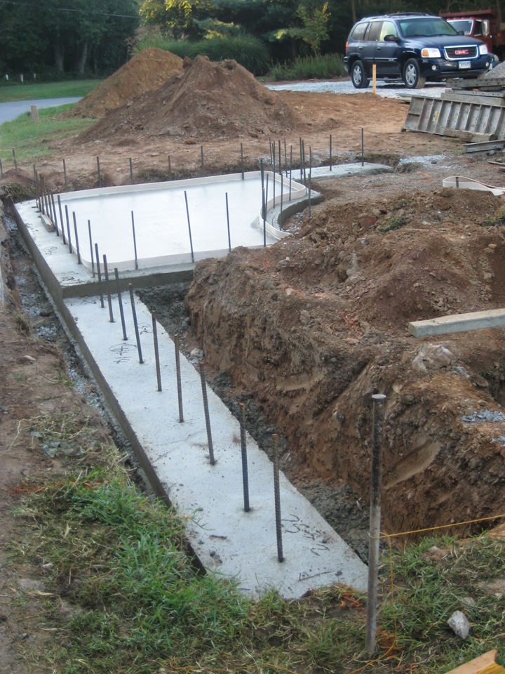 Picture of Poured Footers