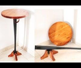 Self Defense Bedside Table