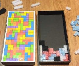 DIY 3D Puzzle Tetris