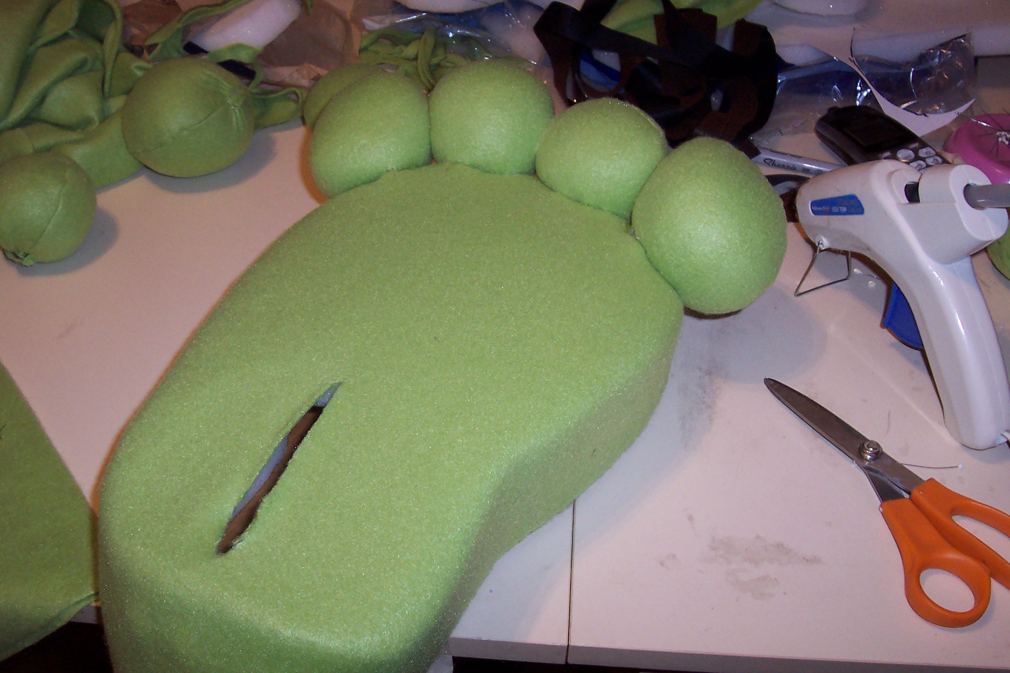 Picture of Making and Attaching Toes