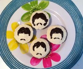 Beatles Band Cupcakes