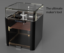 Multimaker - 3Dprinter + PCB Maker + CNC + MORE.....  (Universal CNC) Done Right !