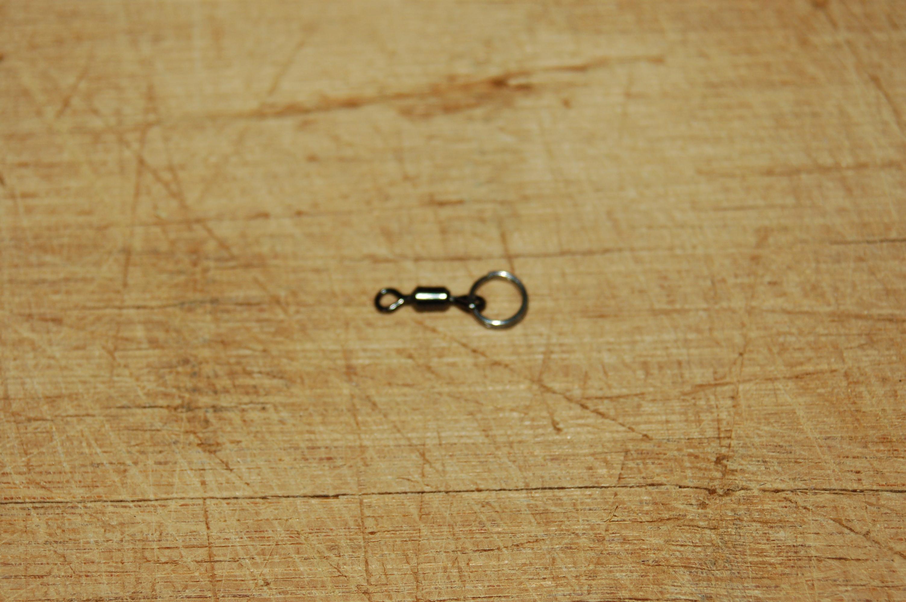 Picture of Split-ring, Meet Barrel Swivel...