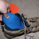 How to size and cut shoe insoles