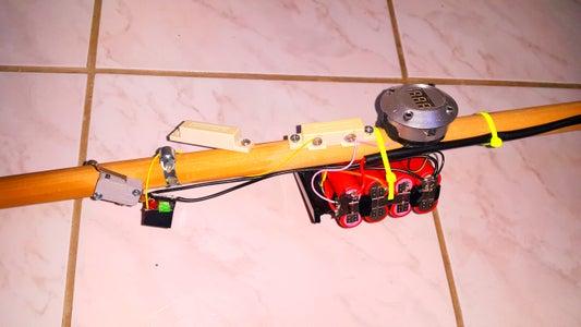 Li Ion Battery and Tilt Sensor.