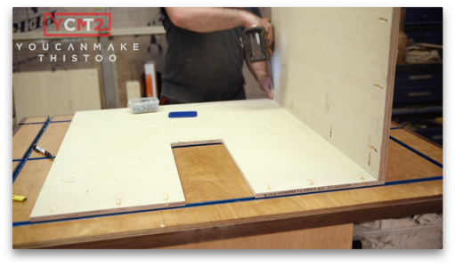 Assemble the Cabinet Body
