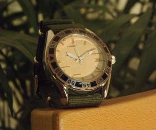 Birch Bark Face for Wrist Watch